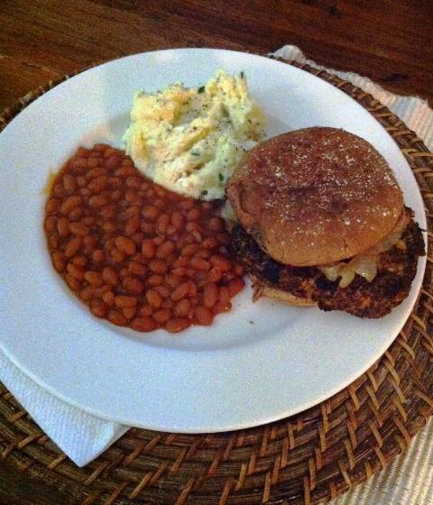 July 4th Vegetarian Meal